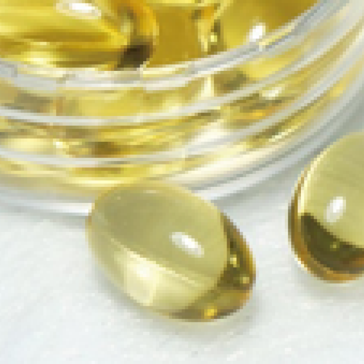 Natural vitamin E softgel capsule