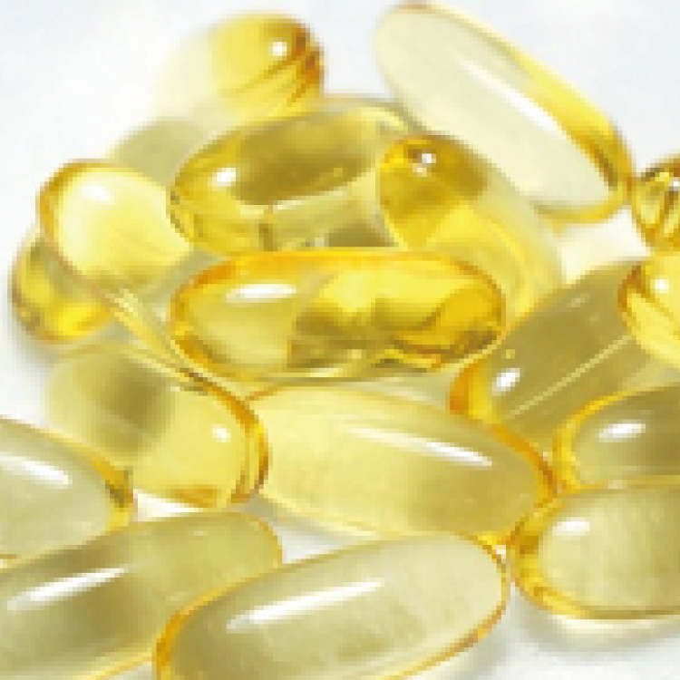 Omega 3 fish oil softgel capsules